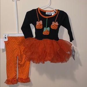 Girls 12 month Blueberi Boulevard Halloween outfit